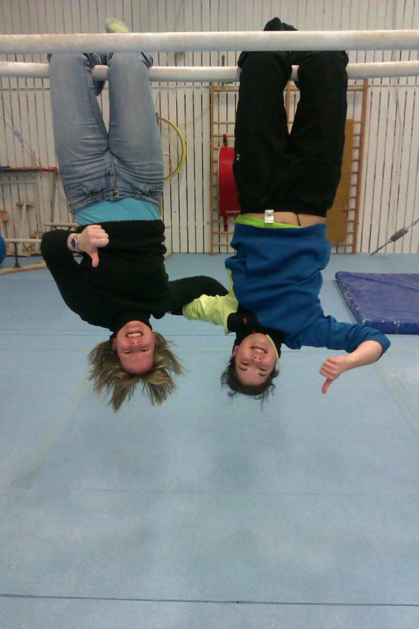 Katrin und Sandra beim B1 Lehrgang