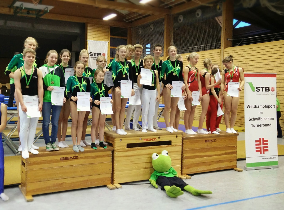 DIe erfolgreichen Landesligamannschaften aus Ruit